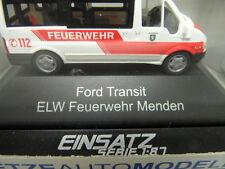 """Rietze Automodelle 51048 - Ford Transit  """" ELW Feuerwehr Menden """" - 1:87 -  NEU"""
