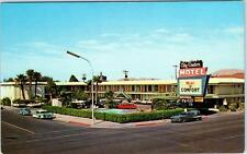 LAS VEGAS, Nevada  NV   Roadside  CITY CENTER MOTEL  ca1950s-60s Cars  Postcard