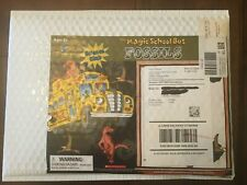 The Magic School Bus Science Club Kit Homeschool Experiments-FOSSILS-BRAND NEW