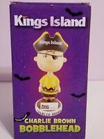 Kings Island Charlie Brown Peanuts Pirate Holloween Bobblehead New In Box