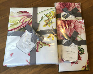 NEW Pottery Barn MONIQUE LHUILLIER ISABELLA FLORAL Full/Queen W/2 Standard Shams