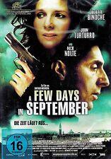 DVD - A Few Days In September - Juliette Binoche, John Turturro & Nick Nolte