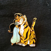 Paris Disney PRINCESS JASMINE & RAJAH from Disney's Aladdin Pin Tiger Raja