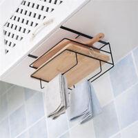 Over Door Hook Hanger Cutting Board Holder Stand Storage Kitchen  Organizer Rack
