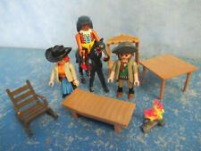 Western Figuren Indianer Möbel Zubehör Pferd Playmobil 8809
