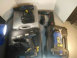 Lot of 4 Wireless Power Tools Untested Please Read Description