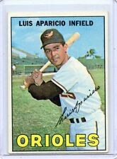 1967 TOPPS BASEBALL #60 LUIS APARICIO, BALTIMORE ORIOLES, SET BREAK, 082017
