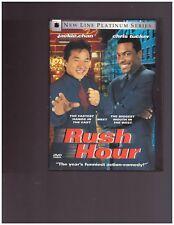 RUSH HOUR DVD JACKIE CHAN CHRIS TUCKER