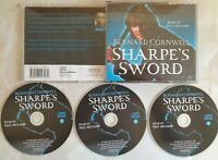 Sharpes Sword: Bernard Cornwell Audio book 3 CD Harper