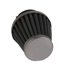 42mm High Flow Air Intake Cone Filter Cleaner Fuel Saver Fit Motorcycle Bike