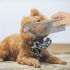 Pet Dematting Comb Pet Kamm Edelstahl Pflegekamm Für Hunde Und Katzen Entfernt