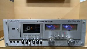 Marantz Model 5010 Stereo Cassette Deck Tape Player Recorder *Parts or Repair*