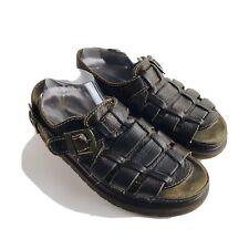 Dr Martens Mens Brown Fisherman Sandals Size 11
