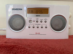 Sangean PR-D5 Am/Fm Stereo Rbds Radio Digital Tuning