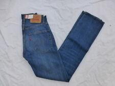 9d523c17e46 Levi's 505 0217 LVC Blue Jeans Womens 24 Red Line Selvedge Big E