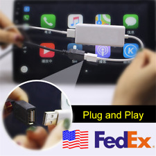 12V USB Receiver Dongle for iOS/Apple Carplay Car Android GPS DVD Player USA 1x