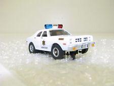 HO New Auto World AFX Racemasters Dukes Of Hazzard Sheriff Car