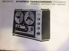 SONY STEREO 4 TRACK TAPE RECORDER EXCELLENT CONDITION