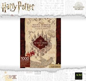Aquarius Puzzle - Harry Potter La Carte De Rumtreibers 1000 Pièces - Emballage