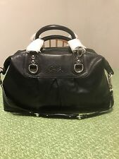 NWT Coach large Ashley Leather Satchel/ Shoulder Bag