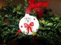 YORKSHIRE TERRIER DOG CHRISTMAS TREE ORNAMENT
