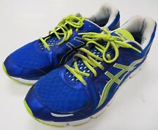 Asics GEL-NEO33 Bright Royal Blue / Lime Running Shoes Size 14 US T222N Mens