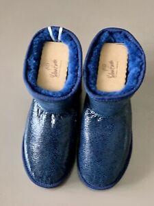 Yellow Earth Cassic Glossy 3/4 Sheepskin 100% UGG Boots New Size EU38 US 7.5