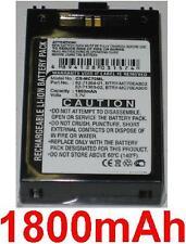 Batería 1800mAh tipo MC70EAB00 Para Symbol MC75