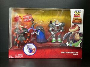 Toy Story That Time Forgot Battleopolis 3-Pack Action Figures Buzz Lightyear