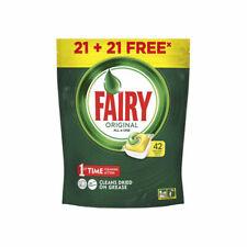 Tablettes pour Lave-vaisselle Lemon Fairy (42 uds)