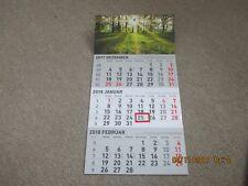 3 Monatskalender 2018,Wandkalender,Terminplaner,Kalender