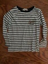 Nwot Boys H&M Stripped Long sleeve shirt- 4-6Y