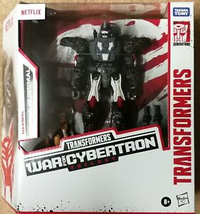 Transformers Netflix War for Cybertron OPTIMUS PRIMAL (Voyager Class)