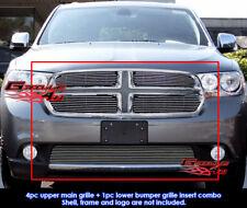 Fits Dodge Durango Billet Grill Insert Combo 2011-2013