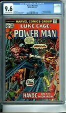 "POWER MAN 18 CGC 9.6 GIL KANE COVER 1st app & ""death"" STEEPLEJACK NEW CGC CASE"