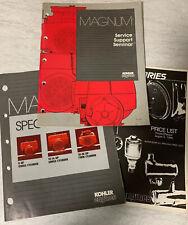 Kohler Engines 1985 Magnum Service Support Seminar Booklet TP-2242