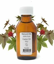 Natural Oils - Castor Oil, 100% Pure - 50ML