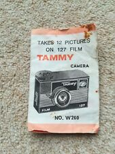 Vintage Camera TAMMY NO. W260 Instructions Manual