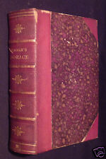 The Works Of Horace: With English Notes, by J. L. Lincoln, 1854, LATIN TEXT