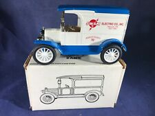 U2-69 ERTL 1:25 SCALE DIE CAST BANK - 1917 FORD MODEL T - SWAM ELECTRIC CO. INC.