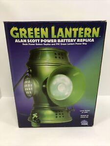 Dc Comics 1:1 Green Lantern Alan Scott Power Battery Replica 454/1000 BNIB