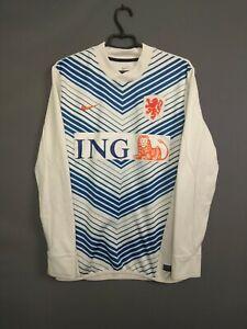 Holland Netherlands Sweater Pullover Size LARGE Nike ig93