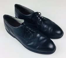Mens Black Rockport DresSports Plain Toe Oxford Dress Shoes Brouge Casual 12M