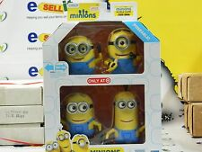 6 INCH MINIONS TARGET EXCLUSIVE 4 POSEABLE DELUXE ACTION FIGURES MOVIE EXCLUSIVE