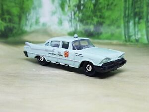 Matchbox Dodge Coronet Police Car 1959 Diecast Model Car - Excellent Condition