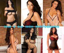 Alice Goodwin - 10x8 & 8x6 inch Photo's #m02 in Babydolls & Underwear sets