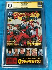 Harley Quinn #4 (2000) - DC - CGC SS 9.8 NM/MT - Signed by Terry Dodson