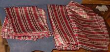 Vintage Gently Used Set of 8 Polyester Napkins and 2 Matching Tablecloths - VGC