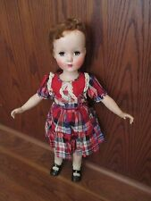 "Arranbee R & B Marked 21""  WALKER Doll Nanette or Nancy  Lee Circa 1950's"