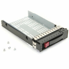"HP Proliant 3.5"" Caddy SAS/SATA Hot-Swap Hard Drive Tray P/N:335537-001 + Screws"